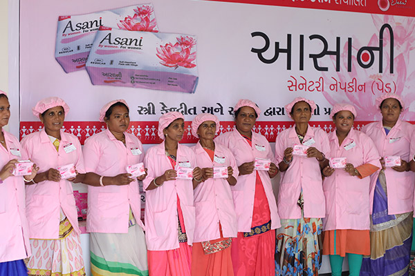 Distribute Sanitary Napkins in Your Region or Local Schools